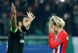 """UEFA Čempionų lyga: """"Atletico"""" neįveikė mažumoje žaidusių """"Qarabag"""""""