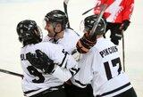 """""""Juodupę"""" nugalėję """"Hockey Punks"""" užsitikrino vietą Lietuvos ledo ritulio čempionato finalo ketverte"""
