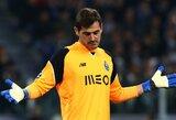 Futbolo pasaulis linki stiprybės: I.Casillas treniruotės metu patyrė širdies smūgį