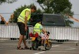 Greičio lenktynėse – saugaus eismo pamokos