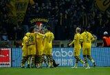 """Dešimtyje rungtyniauti likusi """"Borussia"""" įveikė """"Bundesliga"""" autsaiderius"""