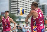 Tinklininkai P.Stankevičius ir M.Navickas Vengrijoje iškopė į pagrindinį turnyrą