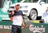 L.Grigelis ašuntą savaitę iš eilės kyla ATP vienetų reitinge