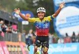 """""""Giro d'Italia"""" lenktynėse – naujas lyderis ir paskutinėje vietoje liekanti I.Konovalovo komanda"""