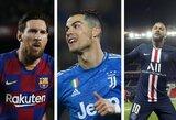 TOP-10: daugiausiai uždirbantys pasaulio futbolininkai