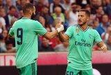 """E.Hazardas: """"K.Benzema – geriausias puolėjas pasaulyje"""""""