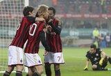 """Debiutinis K.Honda įvartis pažymėtas """"Milan"""" klubo pergale Italijos taurėje"""
