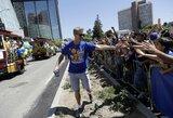 """S.Curry parade pamiršęs S.Kerras: """"Tai buvo bjaurus neapsižiūrėjimas"""""""