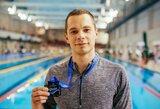 Plaukikas T.Duškinas baigė karjerą