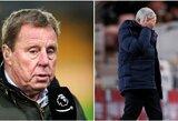 """H.Redknappas netiki, kad J.Mourinho prisijungimas išspręs """"Tottenham"""" problemas"""