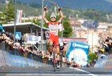 """Po šeštojo """"Giro d'Italia"""" etapo kalnuose pasikeitė bendros įskaitos lyderiai"""