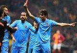 """Pralaimėtame mače prieš """"Fenerbahce"""": """"Trabzonspor"""" fanas užpuolė teisėją, o kitas atėmė Nani marškinėlius"""