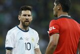 Su pralaimėjimu prieš brazilus vis dar nesusitaikanti Argentina pateikė skundą dėl teisėjų darbo