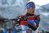 S.Schemppas atėmė pergalę iš O.E.Bjoerndaleno, Lietuvos biatlonininkų rezultatai nuvylė