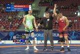 V.Rafeenko pasaulio jaunių imtynių čempionatas baigėsi po pirmosios kovos
