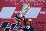 """V.Rossi nepavyko sukurti stebuklo: """"MotoGP"""" pasaulio čempionu tapo J.Lorenzo"""