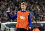 F.De Jongas konstatavo: Anglijos čempionatas sudėtingesnis už Ispanijos