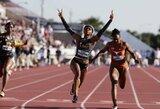 Pamatykite: pasaulį pribloškusi 19-metė sprinterė tapo devinta greičiausia moterimi istorijoje