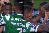 """Jauniausiu visų laikų """"Sporting"""" žaidėju tapęs D.Essugo nesulaikė ašarų"""