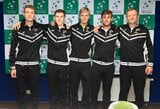 Lietuvos vyrų teniso rinktinė viltis pakilti į aukštesnę grupę atidėjo kitiems metams