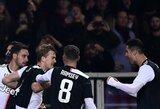"""M.De Ligto įvartis išplėšė """"Juventus"""" pergalę"""