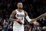 """D.Lillardas: """"Suprasiu, jeigu NBA sezonas bus nutrauktas"""""""