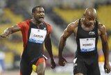 """""""Deimantinės lygos"""" varžybose Katare – dramatiška sprinterio J.Gatlino pergalė (visi rezultatai)"""