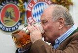 """U.Hoenessas – """"Bayern"""" prezidento gyvenimo taisyklės ir citatos"""