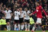 """""""Manchester United"""" klubas nesugebėjo įveikti autsaiderio"""