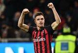 """Dviem įvarčiais """"Milan"""" gretose debiutavęs K.Piatekas: """"Tai tik pradžia"""""""