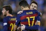 """""""Barcelona"""" susitvarkė su """"Espanyol"""" ir žais Karaliaus taurės ketvirtfinalyje"""
