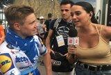 Sporto žurnalistės aprangą pašiepęs buvęs dviratininkas užsitraukė feminisčių rūstybę