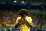 """Brazilijos rinktinė """"Copa America"""" finale turės verstis be traumą patyrusio Williano"""