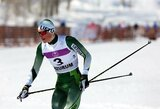 Pasaulio jaunių slidinėjimo čempionate Ą.Bajoravičius aplenkė keturis varžovus