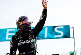 Portugalijos GP lenktynės: 5 minučių beprotybė starte ir M.Schumacherį aplenkęs L.Hamiltonas