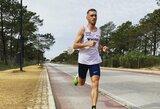 Pusę Londono maratono nubėgęs R.Kančys pasitraukė iš distancijos