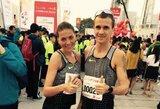 D.Lobačevskė stebina pasaulį: įveikė trečią maratoną per keturis mėnesius