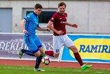 """E.Razulis pelnė du įvarčius, o """"Jelgava"""" ir """"Ventspils"""" pasityčiojo iš varžovų"""