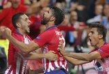 """Pamatykite: D.Costa jau pirmą rungtynių minutę įmušė fantastišką įvartį į """"Real"""" vartus"""