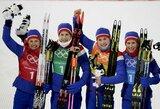 Olimpinėje medalių įskaitoje norvegai vejasi vokiečius, kanadiečiai aplenkė amerikiečius