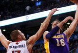 """Pranašumą išbarstęs J.Valančiūno klubas namuose pralaimėjo """"Lakers"""" ekipai"""