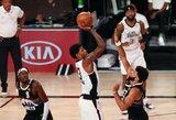"""P.George'o vedama """"Clippers"""" susigrąžino serijos pranašumą"""