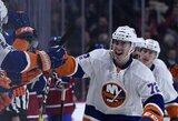 """Tūkstantosios """"Islanders"""" trenerio rungtynės NHL lygoje pažymėtos """"sausa"""" pergale"""
