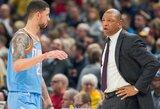 """""""Clippers"""" treneris apie savo sūnaus mainus: """"Taip bus geriau visiems"""""""