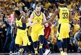 """Lemiamas D.Sabonio atstovaujamos """"Pacers"""" ir """"Cavaliers"""" mačas – labai patogiu laiku"""