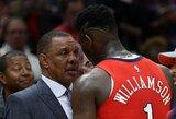 """Vienas vyriausių NBA trenerių COVID-19 nesibaimina ir sezoną tęs: """"Esu kovotojas"""""""