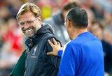 """""""Chelsea"""" strategas M.Sarri: """"Liverpool"""" klubas yra pasirengęs iškovoti """"Premier"""" lygos titulą"""""""