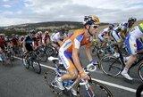 Daugiadienėse dviračių lenktynėse Olandijoje startavo A.Kruopis, R.Navardauskas ir G.Bagdonas