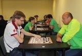 Europos greitųjų šaškių čempionate lietuviai nepateko tarp prizininkų