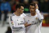 C.Ronaldo treniruojasi pilna jėga, bet iš rikiuotės iškrito G.Bale'as